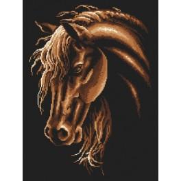 GC 8632 Předloha - Kůň v sépiové