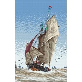 Na moři - Předtištěná aida