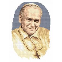 Papež Jan Pavel II - Předtištěná aida