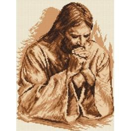 Kristova modlitba - Předtištěná aida