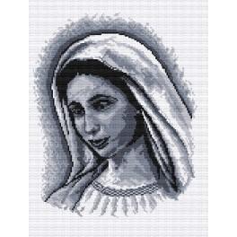Matka boží - Předtištěná aida