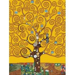 Strom života - Předtištěná aida