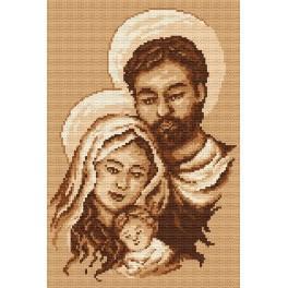Svatá Rodina - Předtištěná aida