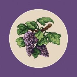 Tmavé víno - B. Sikora-Malyjurek - Předtištěná aida