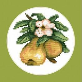 Chutné hrušky - B. Sikora-Malyjurek - Předtištěná aida