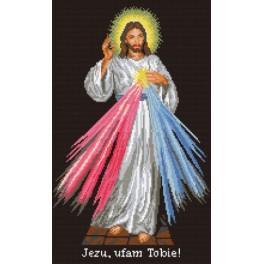 Ježíš milosrdný - Předtištěná aida