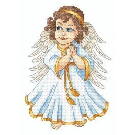 Anděl - Předtištěná aida