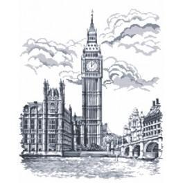 Big Ben - Předtištěná aida