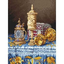 Barokový přepych - Předtištěná aida