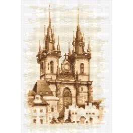 Kostel Matky Boží před Týnem - Praha - Předtištěná aida