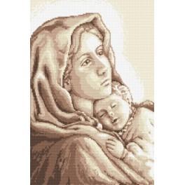 Panna Marie cikánská - Předtištěná aida