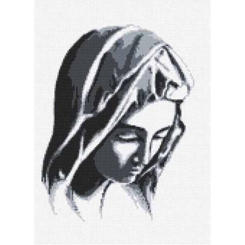 Pieta - Předtištěná aida