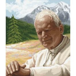 Jan Pavel II - Moment reflexe - Předtištěná aida