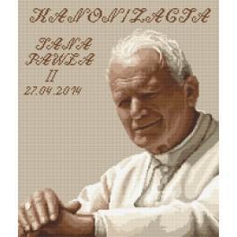 Jan Pavel II - Kanonizace - Předtištěná aida