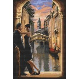 Milované Benátky - Předtištěná aida