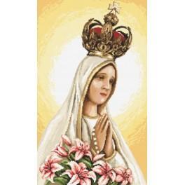 Matka Boží z Fatimy - Předtištěná aida