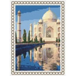 AN 8402 Vzpomínky na dovolenou - Indie - Předtištěná aida