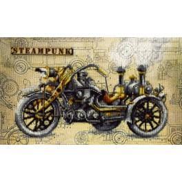 Zestaw z nadrukiem, muliną i podmalowanym tłem - Hałas silnika