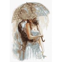 Vyšívací sada - Pod deštníkem II