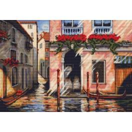 Vyšívací sada - Ráno v Benátkách