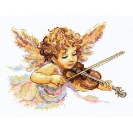 MN 35-11 Vyšívací sada - Andělská melodie