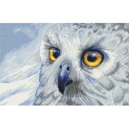 NHB 5510 Vyšívací sada - Sněžná sova