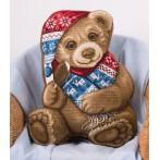 PAPD 1877 Vyšívací sada - Pán Medvěd