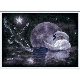 PAPT 0631 Vyšívací sada - Hvězdná labuť