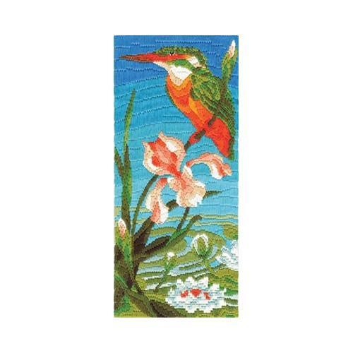 Vyšívací sada - Barevný kolibřík