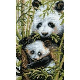 RIO 1159 Vyšívací sada - Panda