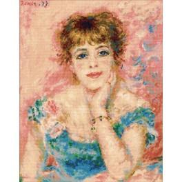 Zestaw z muliną - Portret J. Samary - Pierre-August Renoir