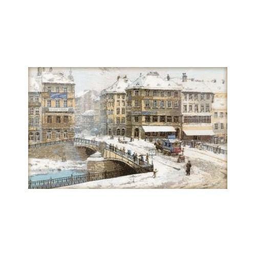 Vyšívací sada - Vídeň - L. Zaichik