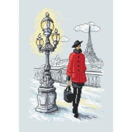 Z 10020 Vyšívací sada - Pařížská elegance