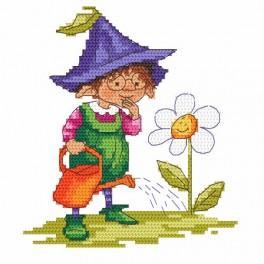Z 10039 Vyšívací sada - Spring gnome