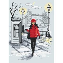 Z 10041 Vyšívací sada - Londýnská elegance