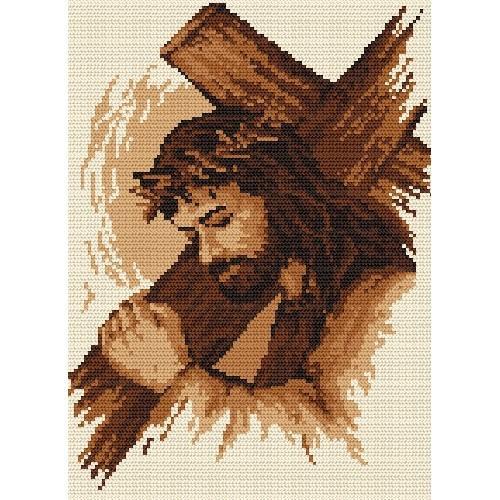 Z 4696 Vyšívací sada - Ježíš s křížem