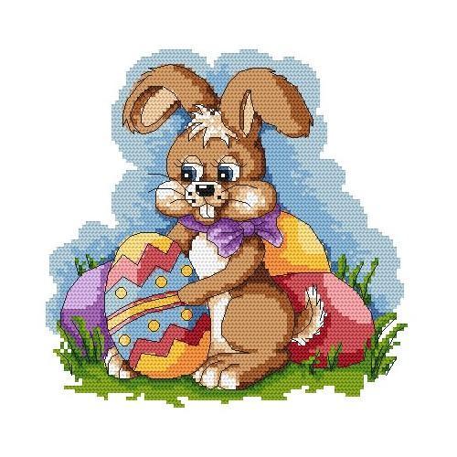 Z 4851 Vyšívací sada - Velikonoční zajíček