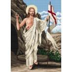 Z 4852 Vyšívací sada - Kristus Zmrtvýchvstalý