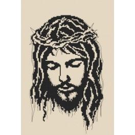 Vyšívací sada - Ježíš v trnové koruně