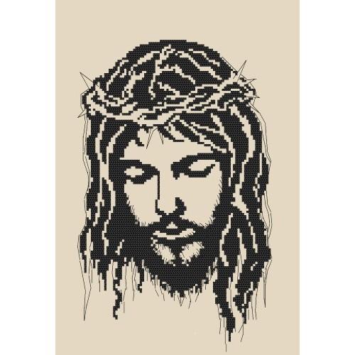 Z 8400 Vyšívací sada - Ježíš v trnové koruně