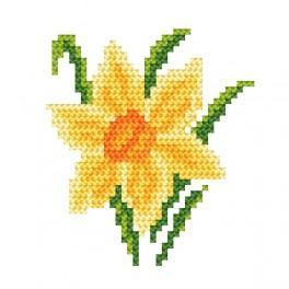 Z 8456 Vyšívací sada - Narcis
