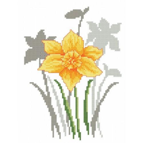 Z 8622 Vyšívací sada - Jarní květiny - Narcisy