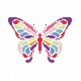 Z 8695 Vyšívací sada - Motýlek