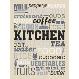 Vyšívací sada - Kitchen