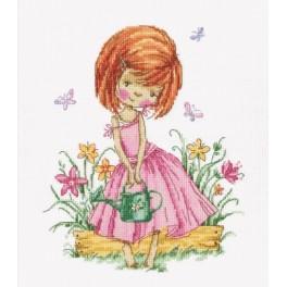 ZTM 513 Vyšívací sada - Motýli v mé zahradě
