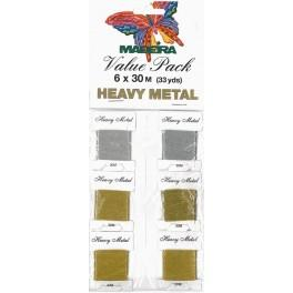Value Pack - HEAVY METAL 6 x 30 m