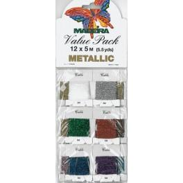 Value Pack - METALLIC 12 x 5 m