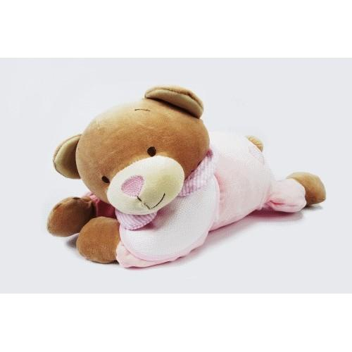 Bear with pouch