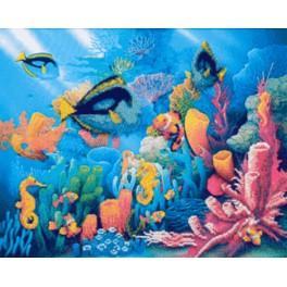Zestaw z koralikami - Z morskich głębi