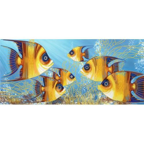 NDK 6017 Vyšívací sada s korálký - Ryby